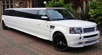 stretch range rover hire leicester