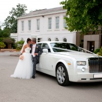 Fairy Tale Rolls Royce Wedding Car Hire